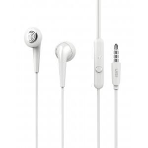 UIISII Earphones U6, Hi-Res Audio, mic, 102db, 1.2m, λευκά U6-WH