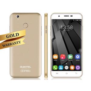 OUKITEL Smartphone U7 PLUS, 4G, 2G+16G, IPS 5.5 inch, Gold U7PLUS-GD