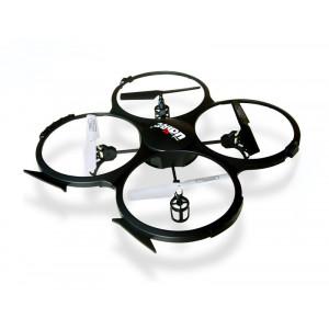 UDIRC Drone U818A, 480p Camera, 6- Axis, 360°flips, μαυρο U818A
