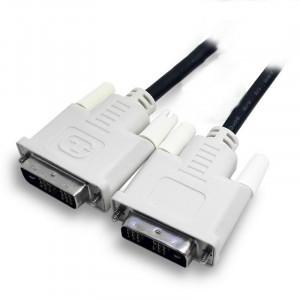 Used Καλωδιο DVI 18+1 Male - Male, Black, 1.8m