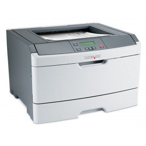 LEXMARK used Printer E360DN, Laser, Mono, no Toner/Drum UN-E360DN