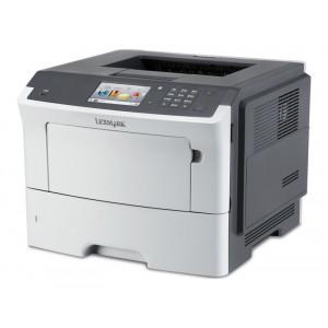 LEXMARK used Printer MS610DE, laser, monochrome, low toner & drum UN-MS610DE