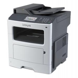 LEXMARK used MFP Printer MX410DE, Laser, Mono, low toner UN-MX410DE