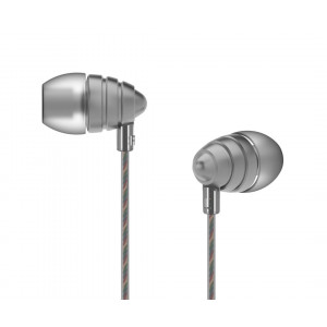 UIISII Ακουστικά Handsfree US90 Little Bee, γκρι US90-S