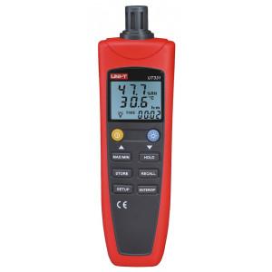 UNI-T ψηφιακό θερμόμετρο & υγρασιόμετρο UT331, USB, auto power off UT331