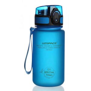 UZSPACE παγούρι νερού Colorful Frosted UZ-3034-BL, 350ml, μπλε UZ-3034-BL