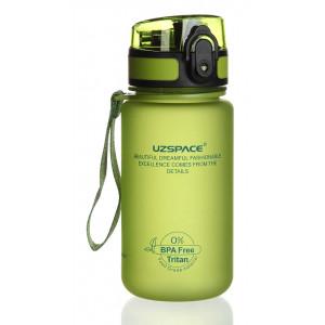 UZSPACE παγούρι νερού Colorful Frosted UZ-3034-GN, 350ml, πράσινο UZ-3034-GN