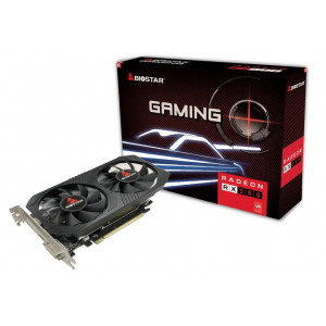 BIOSTAR VGA AMD Radeon RX560 VA5615RF41, GDDR5 4GB, 128bit VA5615RF41-TBMRA-BS2