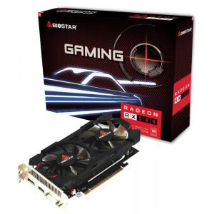 BIOSTAR VGA AMD Radeon RX560 VA5615RF41 Dual Cooling, GDDR5 4GB, 128bit VA5615RF41-TBVRA-BS2
