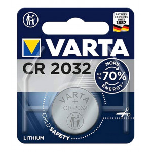 VARTA μπαταρία λιθίου CR2032, 3V, 1τμχ VCR2032