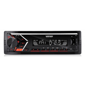 VOICE KRAFT car audio VK-1049 MP3-FM ΒΤ/AUX/SD/USB, χειριστήριο, κόκκινο VK-1049BT-RED