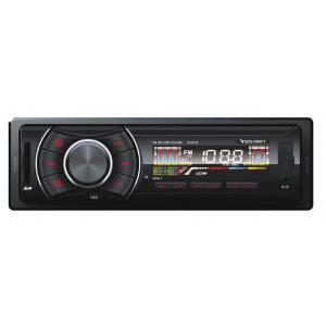 VOICE KRAFT car audio VK6215-BL, MP3-FM AUX/SD/USB, χειριστήριο, κόκκινο VK-6215-RD