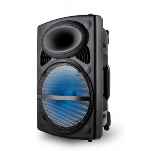 VOICE KRAFT Φορητό ηχείο VK12-HF, 12 Woofer, 50W RMS, LED, FM/USB/SD/BT VK12-HF