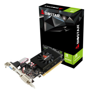 BIOSTAR VGA NVIDIA GeForce GT710 VN7103THX6 LP, DDR3 2GB, 64bit VN7103THX6-TBARL-BS2