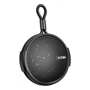 VTIN φορητό ηχείο VNBH221AC, bluetooth, IPX5, 4W, 1000mAh, μαύρο VNBH221AC