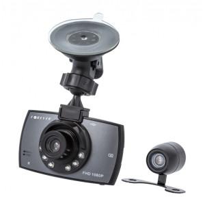 FOREVER Car video recorder VR-200 2x Καμερες, Full HD, 2.7