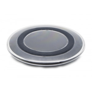 Wireless QI charger pad S6, 1A, Black WCP-S6BK