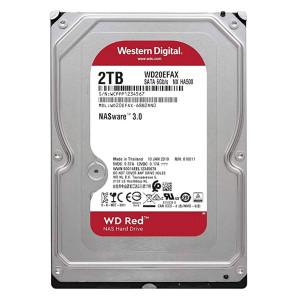 WD Red NAS σκληρός δισκος WD20EFAX 2TB, 3.5, 256MB cache, 5400RPM, 6Gb/s WD20EFAX