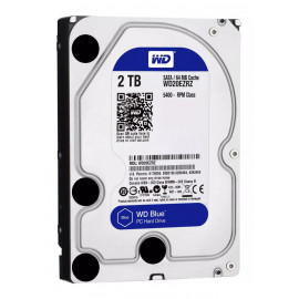 WD Blue Σκληρός Δίσκος WD20EZRZ 2TB, 3.5, 64MB Cache, 5400RPM, 6Gb/s WD20EZRZ