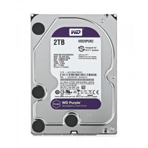 """WD Purple Surveillance Σκληρος Δισκος 3.5"""" 3TB, 64MB, 5400RPM, SATA III WD30PURZ"""