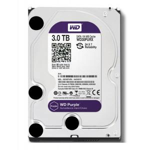 WD Purple σκληρός δισκος WD30PURZ 3TB, 3.5, 64MB cache, 5400RPM, 6Gb/s WD30PURZ