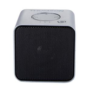THOMSON Φορητο ηχειο WS01GM με μικροφωνο, bluetooth/SD/AUX in, 3W, ασημι WS01GM