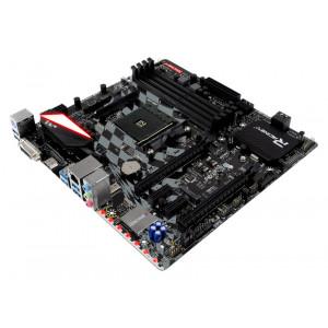 BIOSTAR Μητρική X470GTQ, 4x DDR4, AM4, USB 3.1, HDMI, mATX, Ver. 5.0 X470GTQ