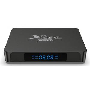 Smart TV Box X96Q-PRO, 4K, H313, 2GB/16GB, WiFi 2.4/5GHz, Android 10 X96Q-PRO