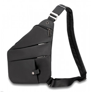 ARCTIC HUNTER τσάντα crossbody XB00041-BK, αδιάβροχη, μαύρη XB00041-BK