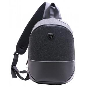 ARCTIC HUNTER τσάντα Crossbody XB00050-BK, tablet, αδιάβροχη, μαύρη XB00050-BK