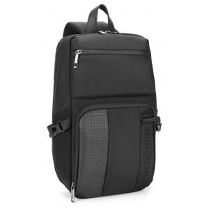ARCTIC HUNTER Τσάντα Crossbody XB00096-BK, αδιάβροχη, μαύρη XB00096-BK
