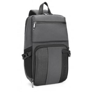 ARCTIC HUNTER Τσάντα Crossbody XB00096-GY, αδιάβροχη, γκρι XB00096-GY