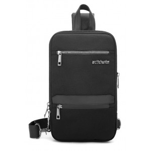ARCTIC HUNTER Τσάντα Crossbody XB00109-BK, πτυσσόμενη, μαύρη XB00109-BK