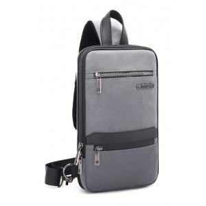 ARCTIC HUNTER Τσάντα Crossbody XB00109-GY, πτυσσόμενη, γκρι XB00109-GY