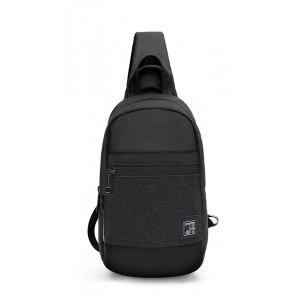 ARCTIC HUNTER τσάντα Crossbody XB0060-BK, αδιάβροχη, μαύρη XB0060-BK