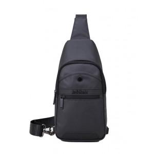 ARCTIC HUNTER τσάντα Crossbody XB13001-BK, αδιάβροχη, μαύρη XB13001-BK