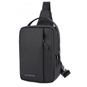 ARCTIC HUNTER Τσάντα Crossbody XB130027-BK, αδιάβροχη, μαύρη XB130027-BK