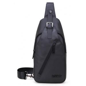 ARCTIC HUNTER τσάντα Crossbody XB13006-BK, αδιάβροχη, μαύρη XB13006-BK