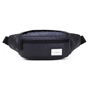 ARCTIC HUNTER τσάντα μέσης YB14001-BK, αδιάβροχη, μαύρη YB14001-BK