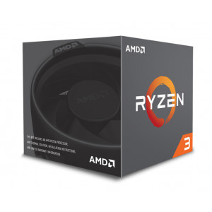 AMD CPU Ryzen 3 1300X, 3.5GHz, 4 Cores, AM4, 10MB, Wraith Stealth cooler YD130XBBAEBOX