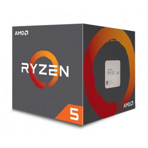AMD CPU Ryzen 5 2600, 3.4GHz, 6 Cores, AM4, 19MB, Wraith Stealth cooler YD2600BBAFBOX