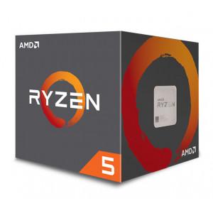 AMD CPU Ryzen 5 2600X, 3.6GHz, 6 Cores, AM4, 19MB, Wraith Spire cooler YD260XBCAFBOX