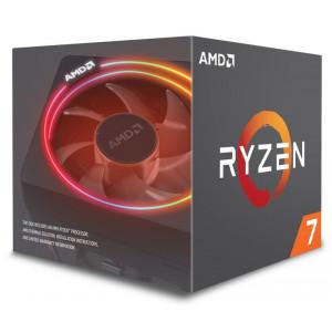 AMD CPU Ryzen 7 2700X, 3.7GHz, 8 Cores, AM4, 20MB, Wraith Prism RGB LED YD270XBGAFBOX