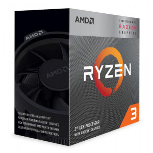 AMD CPU Ryzen 3 3200G, 3.6GHz, 4Cores, 6MB, AM4, Radeon Vega 8 Graphics YD3200C5FHBOX