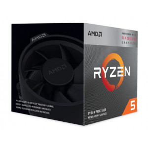 AMD CPU Ryzen 5 3400G, 3.7GHz, 4Cores, AM4, Radeon RX Vega 11 Graphics YD3400C5FHBOX