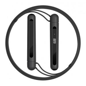 YUNMAI smart σχοινάκι γυμναστικής YMSR-P701, Bluetooth, 3m, μαύρο YMSR-P701