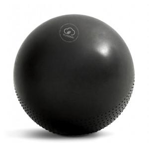 YUNMAI μπάλα γυμναστικής YMYB-P201, 65cm, μαύρη YMYB-P201