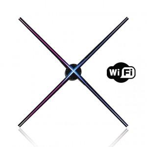 Διαφημιστική Πινακίδα Προβολής Ολογράμματος Z3, LED, WiFi, 65cm, μαύρη Z3-V1