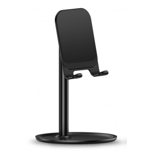 USAMS βάση smartphone US-ZJ048, ρυθμιζόμενη, μεταλλική, μαύρη ZJ048ZJ01