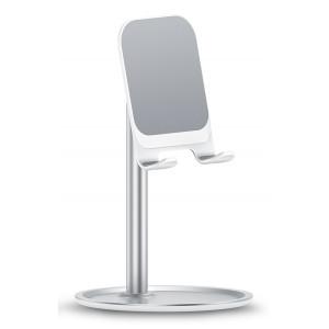 USAMS βάση smartphone US-ZJ048, ρυθμιζόμενη, μεταλλική, λευκή ZJ048ZJ02